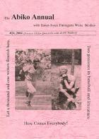 Abiko Annual with James Joyce Finnegans Wake Studies #24 (2004)