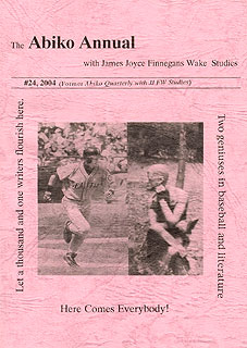 Abiko Annual with James Joyce Finnegans Wake Studies #24 (2004)